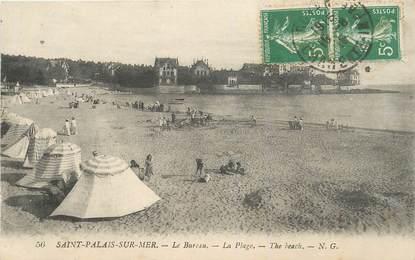 """CPA FRANCE 17 """"Saint Palais sur Mer, la Plage"""""""