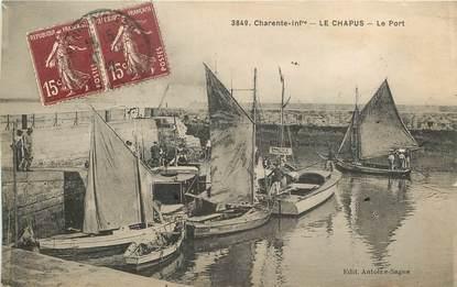 """CPA FRANCE 17 """"Le Chapus, le port"""""""