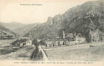 "/ CPA FRANCE 06 ""Guillaumes, vallée du var"""