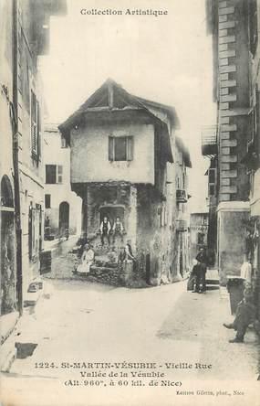 """/ CPA FRANCE 06 """"Saint Martin Vésubie, vieille rue"""""""