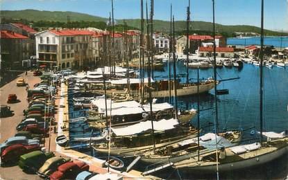"""/ CPSM FRANCE 83 """"Saint Tropez, le port et les quais"""""""