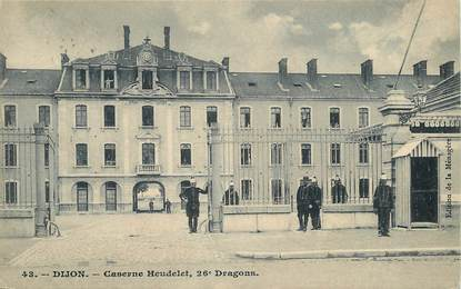 "CPA FRANCE 21 ""Dijon, caserne Heudelet"""