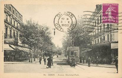 """CPA FRANCE 21 """"Dijon, avenue Maréchal Foch"""""""