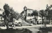 """03 Allier  / CPSM FRANCE 03 """"Bourbon l'Archambault, av Nationale et maison Saint Joseph"""""""