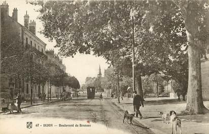 """CPA FRANCE 21 """"Dijon, Bld de Brosses"""""""