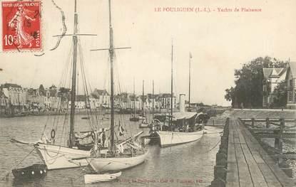 """CPA FRANCE 44 """"Le Pouliguen, les yachts de plaisance"""""""