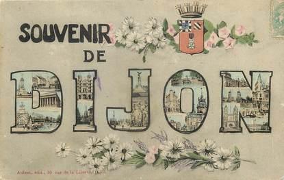 """CPA FRANCE 21 """"Souvenir de Dijon"""""""