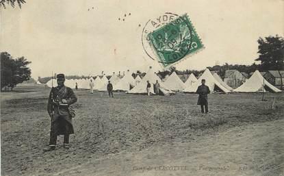 """/ CPA FRANCE 45 """"Camp de Cercottes, vue générale"""" / MILITAIRE"""