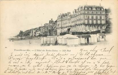 """CPA FRANCE 14 """"Trouville sur Mer, Hôtel des Roches Noires"""""""