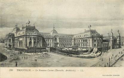 """CPA FRANCE 14 """"Trouville sur Mer, Le nouveau casino"""""""