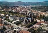 """71 SaÔne Et Loire / CPSM FRANCE 71 """"Le Creusot, vue aérienne, église Saint Henri"""""""