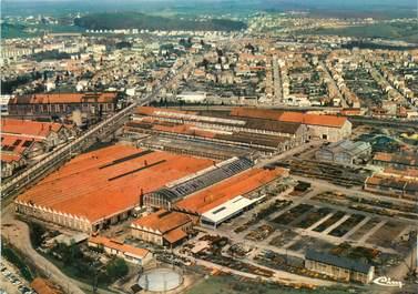 """/ CPSM FRANCE 71 """"Le Creusot, vue aérienne, usines SFAC """""""