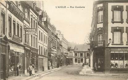 """/ CPA FRANCE 61 """"L'Aigle, rue Gambetta"""""""