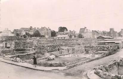 """/ CPSM FRANCE 61 """"Flers de l'Orne, un coin des ruines"""""""