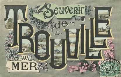 """CPA FRANCE 14 """"Souvenir de Trouville sur Mer"""""""