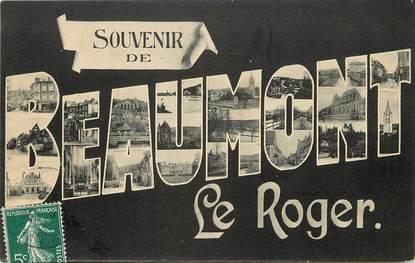 """CPA FRANCE 27 """"Souvenir de Beaumont le Roger"""""""
