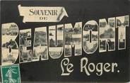 """27 Eure CPA FRANCE 27 """"Souvenir de Beaumont le Roger"""""""