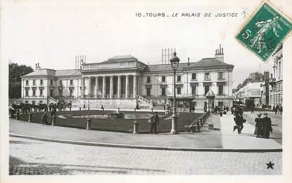 """CPA FRANCE 37 """"Tours, le palais de justice"""" / Ed. ETOILE"""