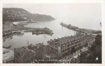"""CPA FRANCE 06 """"Nice, l'entrée du port"""" / Ed. ETOILE"""