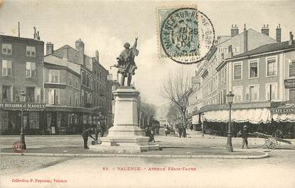 "CPA FRANCE 26 ""Valence, avenue Félix Faure"""