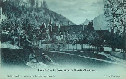 "/ CPA FRANCE 38 ""Le Couvente de la grande Chartreuse"""