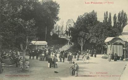 """/ CPA FRANCE 31 """"Barbazan, place des Thermes et nouvelle buvette"""""""