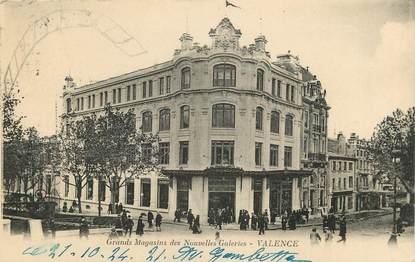 "CPA FRANCE 26 ""Valence, Grands magasins des Nouvelles Galeries"""