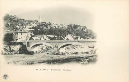 """/ CPA FRANCE 73 """"Albertville, Conflans"""""""