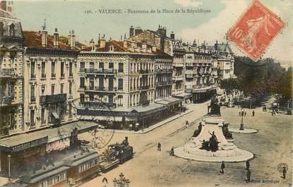 """CPA FRANCE 26 """"Valence, Place de la République"""""""