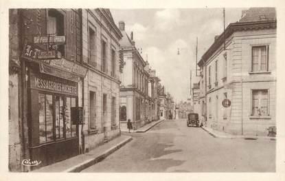 """/ CPA FRANCE 37 """"Bléré, route Nationale"""""""