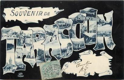 """CPA FRANCE 09 """"Souvenir de Tarascon"""""""