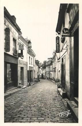 """/ CPSM FRANCE 37 """"Sainte Maure de Touraine, rue du Docteur Patry"""""""