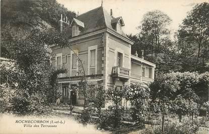 """/ CPA FRANCE 37 """"Rochecorbon, villa des terrasses"""""""