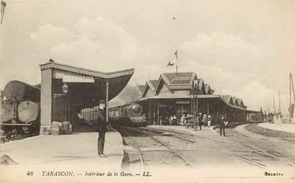 "CPA FRANCE 13 ""Tarascon, intérieur de la gare"""