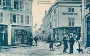 "88 Vosge CPA FRANCE 88 "" Rambervillers, rue du Maréchal Foch, Imprimerie"""