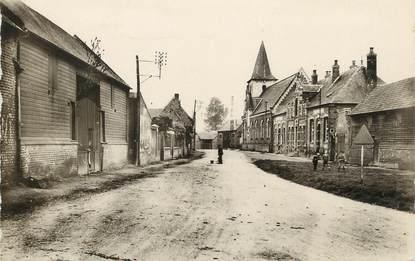 """/ CPSM FRANCE 80 """"Méricourt l'Abbé, la grande rue"""""""