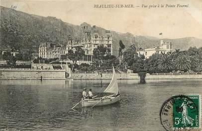 """CPA FRANCE 06 """"Beaulieu sur Mer, vue prise à la pointe Fourmi"""""""