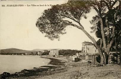 """CPA FRANCE 06 """"Juan les Pins, les villas au bord de la mer"""""""