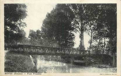 """/ CPA FRANCE 80 """"Boves, pont Prussien"""""""