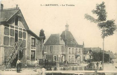 "/ CPA FRANCE 80 ""Matigny, le Tonkin"""