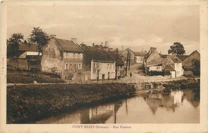 """/ CPA FRANCE 80 """"Pont Rémy, rue Pasteur"""""""