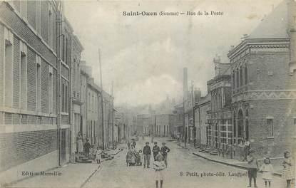 """/ CPA FRANCE 80 """"Saint Ouen, rue de la poste"""""""