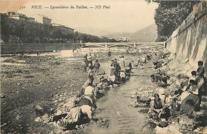 """CPA FRANCE 06 """"Nice, Lavandières du Paillon"""""""