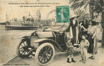 "CPA FRANCE 06 ""Nice"" / AUTOMOBILE"
