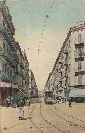 "CPA FRANCE 06 ""Nice, la rue Cassins"""