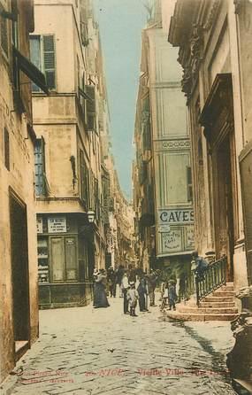 """CPA FRANCE 06 """"Nice, la vieille ville"""""""