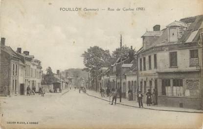 "/ CPA FRANCE 80 ""Fouilloy, rue de Corbie"""