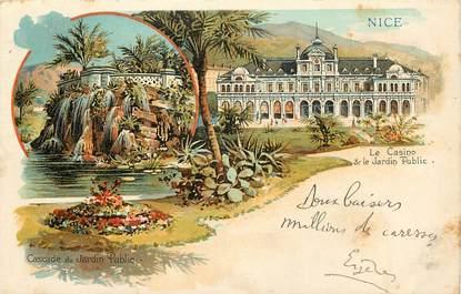 "CPA FRANCE 06 ""Nice, le Casino et le Jardin public"""