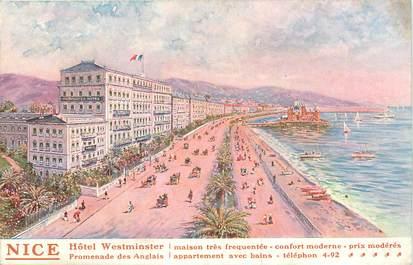"""CPA FRANCE 06 """"Nice, Hôtel Westminster"""""""