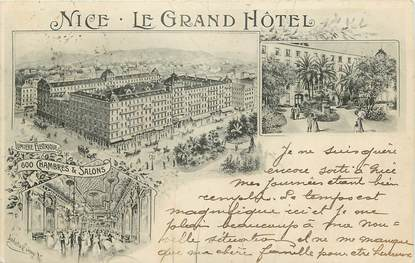 "CPA FRANCE 06 ""Nice, Le Grand Hôtel"""